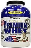 Whey Protein (Vanille- oder Bananengeschmack)