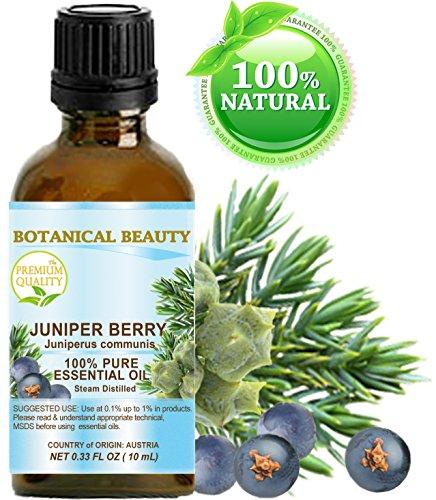 Bacche di ginepro olio essenziale–Juniperus communis. 100% puro grado terapeutico, qualità premium, non diluito. 0.17fl. oz–5ml.