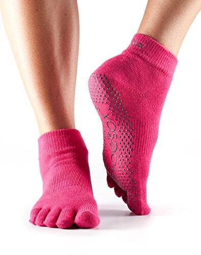 Calcetines de Yoga Toesox- Fucsia - M
