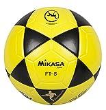 Mikasa Ball Ft-5 Bky Footvolley, Schwarz/Gelb, 5, 1300