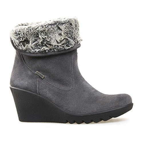 Van Dal Shoes Womens Short Boot O'Conner in Grey