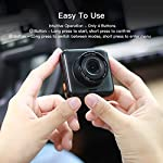 APEMAN Dual Lens Dash Cam for Cars Front and Rear with Night Vision and SD Card Included, 1080P FHD Mini Car Camera, 170°Wide Angle Driving Recorder with G-Sensor, Parking Monitor, Loop Recording, WDR 16