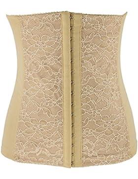 La mujer de látex delgado cinturón Cincher cintura cintura formador y Shaper