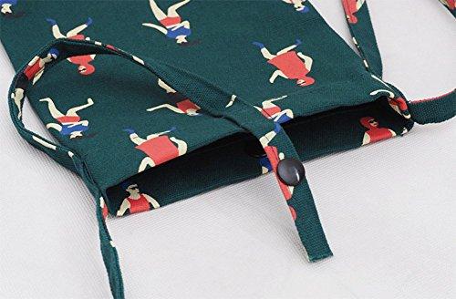 LAAT, Borsa a zainetto donna, verde (verde) - WKI103434VEVVN163 verde