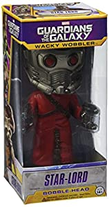 """Wacky Wobbler"" Guardians of The Galaxy Star Lord Bobble Head Figure"
