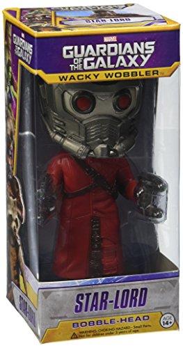 "Funko FUN3961 Wacky Wobbler"" Guardians of The Galaxy Star Lord Bobble Head Figure 2"