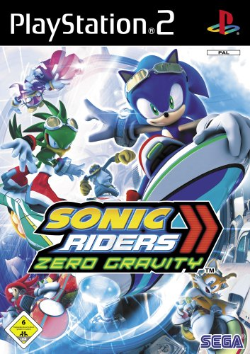 Sonic Riders - Zero Gravity (Playstation 2-sonic)