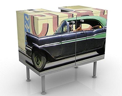 Mobile per lavabo design Show Me Cuba 60x55x35cm, basso, Larghezza: 60cm, regolabile, mobiletto da lavandino, lavandino, mobiletto da lavabo, lavabo, mobiletto, bagno, bagnetto, mobile da bagno