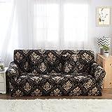 FORCHEER Sofabezug elastische Sofahusse Sesselbezug Stretchhusse Sofaüberwurf Couch Husse mit 4 verschienden Größe ( 3-Sitzer, 190-230cm, Farbe #7 )