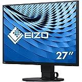 Eizo EV2780-BK 68,4 cm (27 Zoll) Ultra-Slim Monitor (DVI-D, HDMI, USB 3.1 Typ C, DisplayPort, 5ms Reaktionszeit, 2560 x 1440 Pixel) schwarz