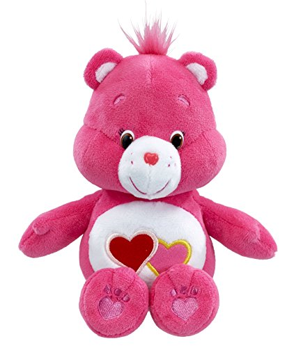 vivid-imaginations-care-bears-love-a-lot-bean-bag-plush-toy-multi-colour