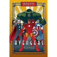Marvel Deco-Póster grande, diseño de flores, multicolor