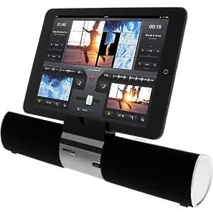 Mocca - Enceinte Bluetooth Smartup Mains Libres avec Support - Noir