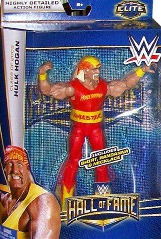 Hulk Hogan Hall of Fame Elite WWE Mattel by Mattel (Of Wwe Mattel Fame Hall)