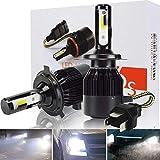 Best Led Headlights - Safego 6000lm H4 Hi/Lo LED Headlight Kit Bulbs Review