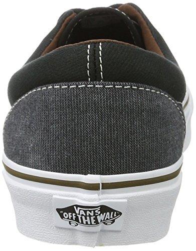 Vans Era, Chaussures de Running Homme Noir (Black/blackt/h)