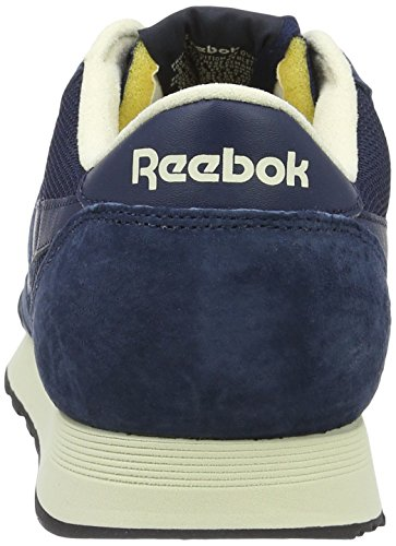 Rame Bleu Sneakers Homme Bassi marina Nero Reebok Pprwht P Nylon Antico Collegiale Classic 4xvAO