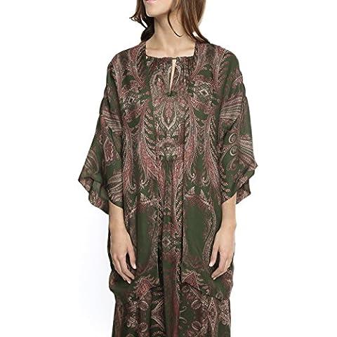 Caramelo, Kimono Estampado, Mujer