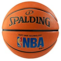 Spalding Logoman Soft Grip Outdoor Basketball - Large