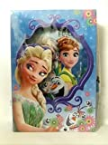 K&M WORLD FROZEN BIG Personal Diary for kids boys girls Secret Notebook Diary with Lock & Key for kids Coolest Stylish Hardcover Secret Diary - Lock and Key