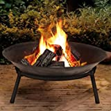 Gusseisen Feuerschale Feuerstelle Garten Outdoor Korb Modern Fire Pit