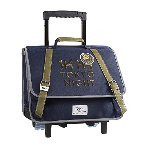 IKKS Backpacker in Tokyo Cartable, 40 cm, Bleu