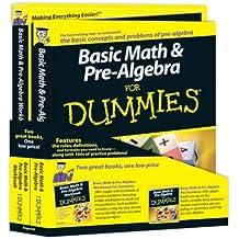 Basic Math and Pre-Algebra For Dummies Education Bundle by Mark Zegarelli (2009-06-22)