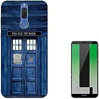 """Doctor Who Tardis Police Call Box Huawei Mate 10 Lite 5.9"""" Carcasa de Gel de Silicona Case Cover"""