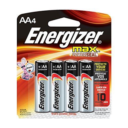 Energizer Max AA Batteries, 4 Count Size: 4 count UnitCount: 4, Model: EVEE91BP4, Gadget & Electronics Store - 4 Aa Energizer Max Batterien