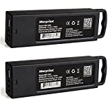 Morpilot 2 Pack Yuneec Typhoon Q500 4K Battery, 3S 6300mAh 11.1V LiPO Battery High Performance with Charging Protection Genuine Parts Extra Flight Time