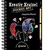 Kreativ-Kratzel Pocket Art: Magische Pferde (Kreativ-Kratzelbuch)