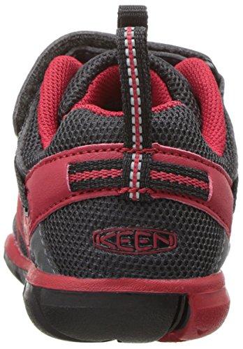 Keen Chandler CNX Junior Chaussure De Marche - SS17 Magnet/Tango Red