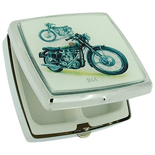 the-olivia-collection-black-motor-bike-square-pill-box-with-two-compartments-mirror-sc699