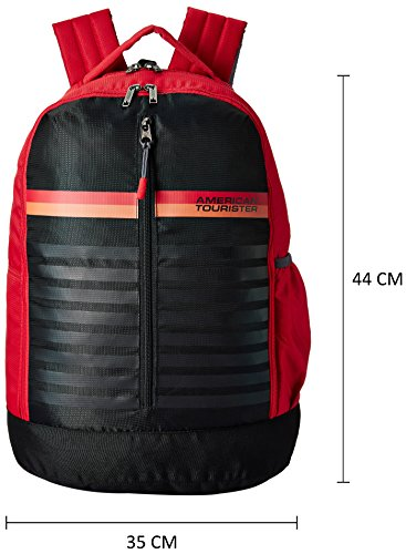 acd60c400f7 American Tourister 28 Ltrs Red Casual Backpack (AMT PING BACKPACK 01 ...