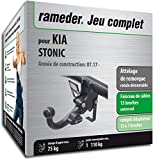Rameder Attelage rotule démontable pour KIA STONIC + Faisceau 13 Broches...