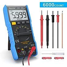 Multímetro Digital 6000 Cuentas, Polímetro Digital True RMS Autorango morpilot Tester NCV para medir AC