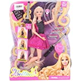 Tickles AT-DL066 Hairtastic Endless Curls Doll Toy - 30 Cm