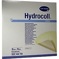 Hydrocoll thin Wundverband 15x15 cm, 5 St preisvergleich bei billige-tabletten.eu
