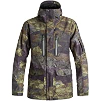 Quiksilver Dark And Stormy Giacca, Woodland,