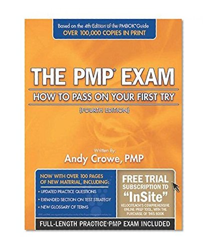 Portada del libro The PMP Exam: How to Pass on Your First Try (4th Ed., July 2010)