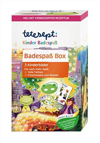 Tetesept Kinder Badespass Box, 3x50 g, 3er Pack (3 x 150 g)