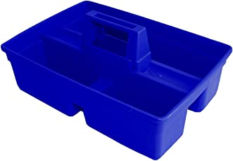 PUFFIN Handy Caddy p-ABS Tool Bucket (39.4 cm x 24.4 cm x 13.3 cm, Blue, Pack of 1)