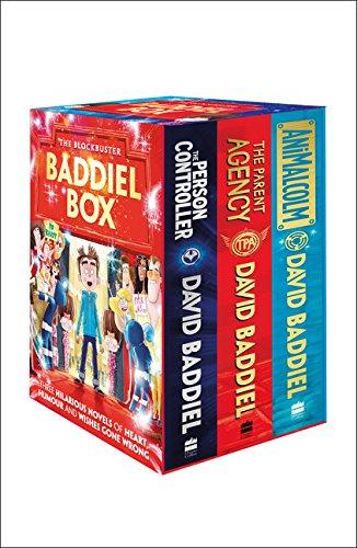 The Blockbuster Baddiel Box (The Parent Agency, The Person Controller, AniMalcolm) por David Baddiel