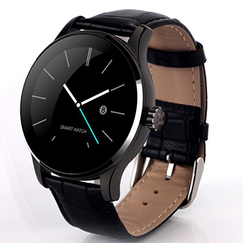 Nuovo K88H Smart Watch Bluetooth telecamera remota frequenza cardiaca Sleep monitor pedometro orologio compatibile iOS e Android...