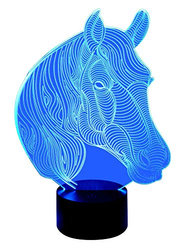 Lampe originale 3D LED PFERD