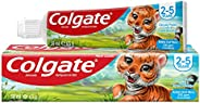 معجون أسنان للأطفال تي بي لعمر 2 - 5 سنوات من كولجيت بفقاعات الفاكهة، 50 مل