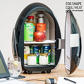 Egg Shape Cold Heat Fridge 10 L Amazon Co Uk Large