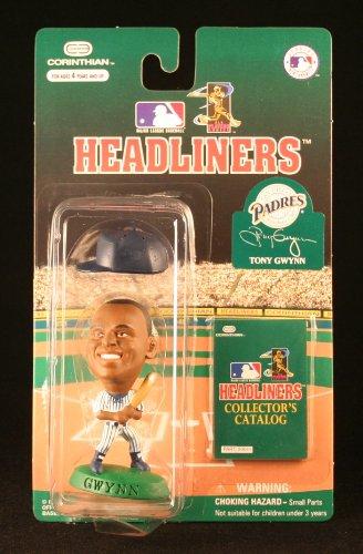 Preisvergleich Produktbild TONY GWYNN / SAN DIEGO PADRES * 3 INCH * 1996 MLB Headliners Baseball Collector Figure