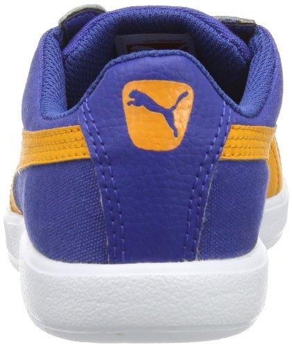 Puma Archive Lite Lo CVS Jr 355991 Unisex-Kinder Sneaker Blau (monaco blue-bright marigold 03)