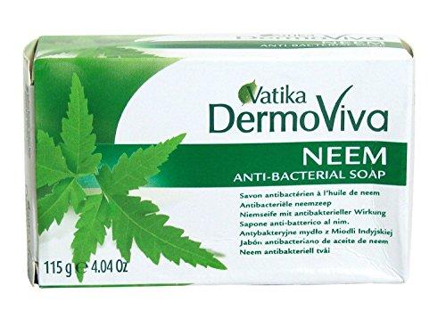 Dabur Vatika Neem Savon - 115 g - Lot de 3